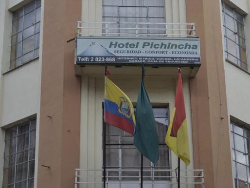 Hotel Pichincha in Cuenca, Ecuador