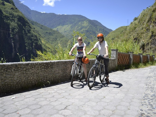 Ruta de las Cascadas: Biking To The Banos Waterfalls