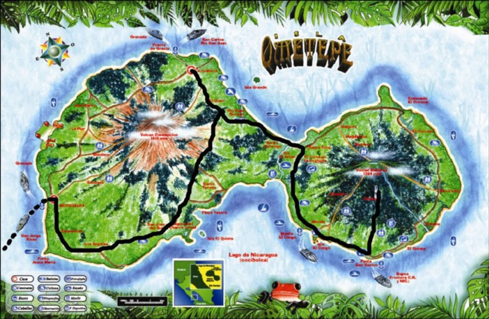 The Isla Ometepe - A Volcanic Paradise in Nicaragua