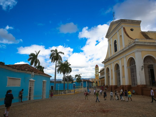 Trinidad, Cuba: Tropical Buildings and Beaches