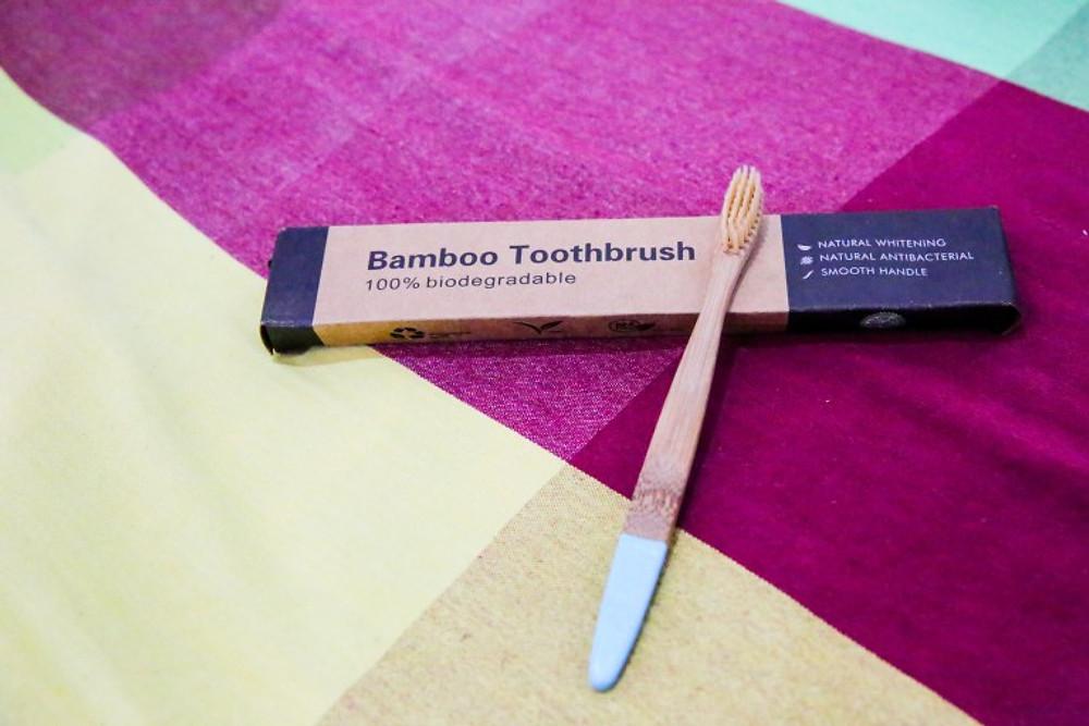 sustainable toothbrush bamboo traveler