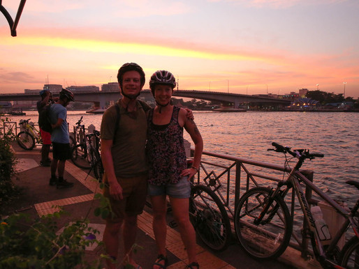 Grasshopper Adventures Bangkok Bike Tours – Night Biking The Big City