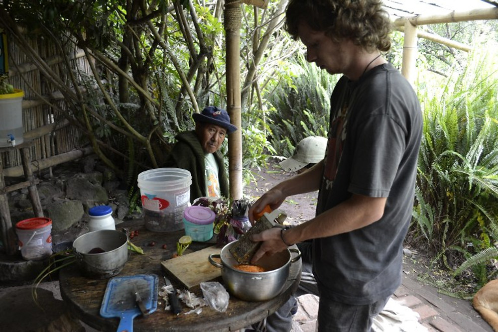 WWOOFING Ecuador Tungurahua