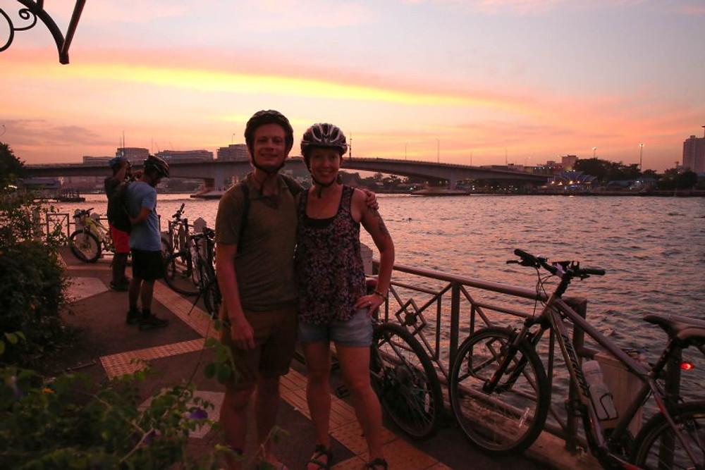Bangkok Night Biking Tour with Grasshopper Adventures
