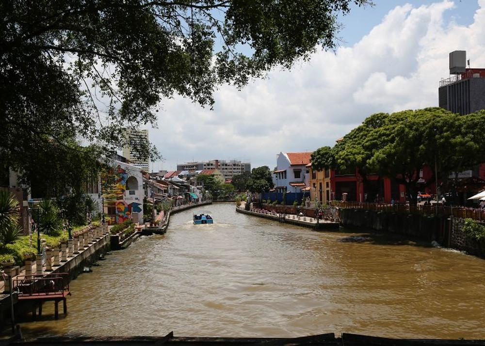 Malacca river, Malaysia