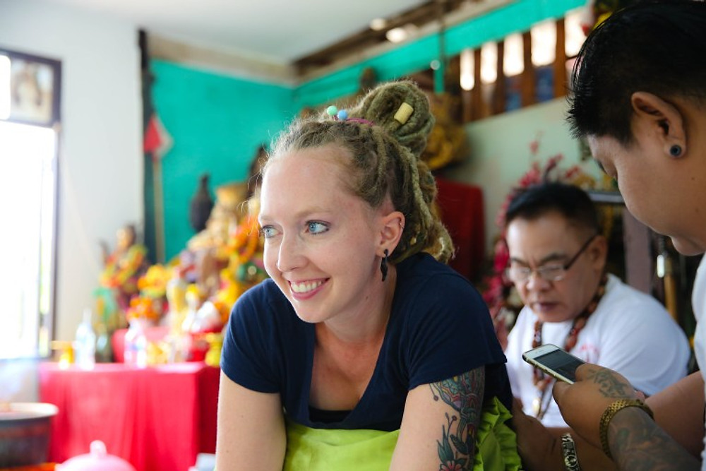 Sak Yant - Getting Thailand's Sacred Bamboo Tattoos in Ayutthaya
