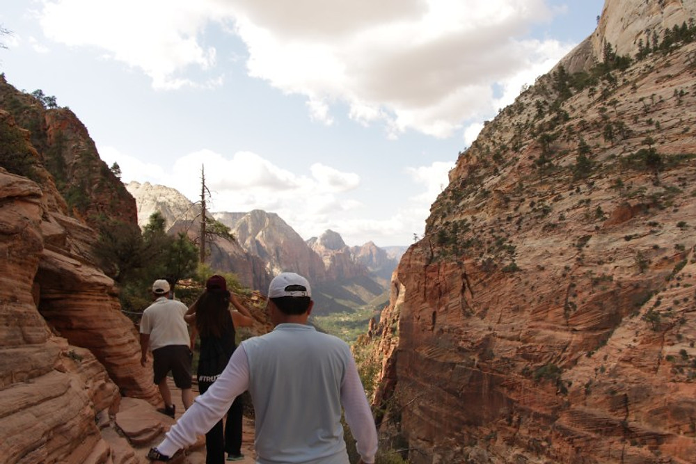 zion national park angles landing hike