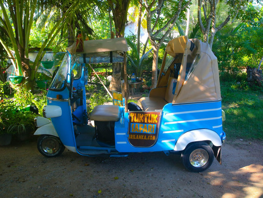 Tuk Tuk Safari – Exploring Galle on the Sri Lanka Coast