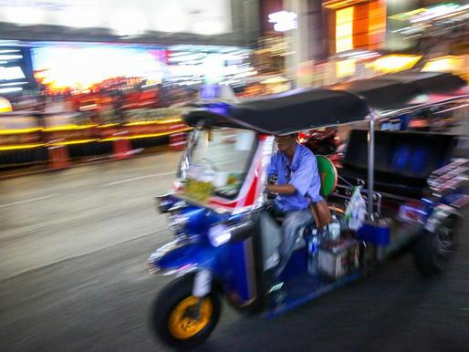 Exploring Bangkok with Tuk Tuk Hop