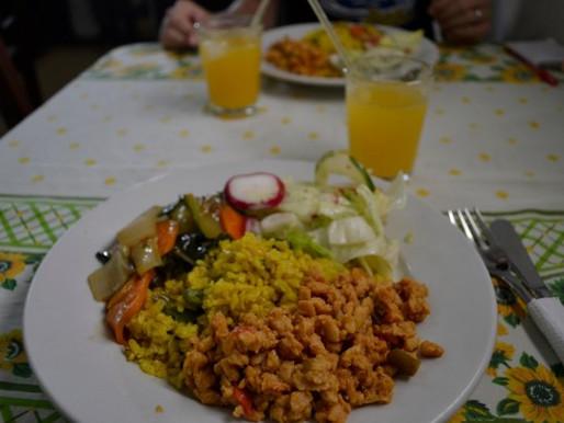 Restaurante Vegetariano Los Girasoles in Cartagena, Colombia