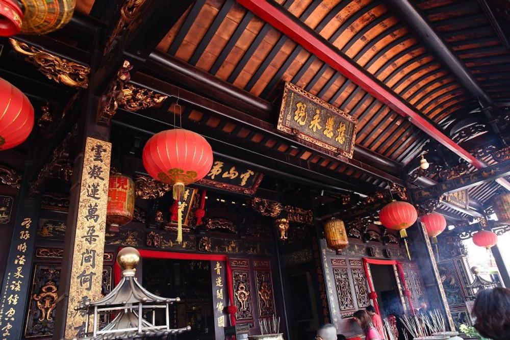 Malacca, Malaysia temples
