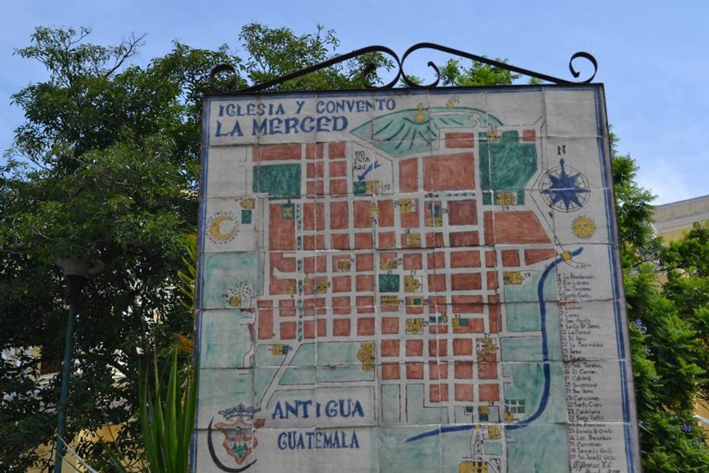 Backpacker Trail Through Antigua