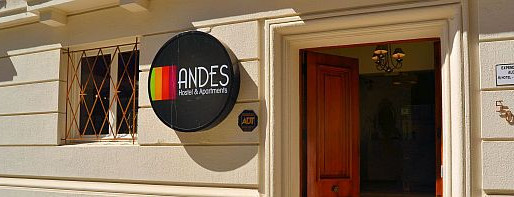 Andes Hostel in Santiago, Chile
