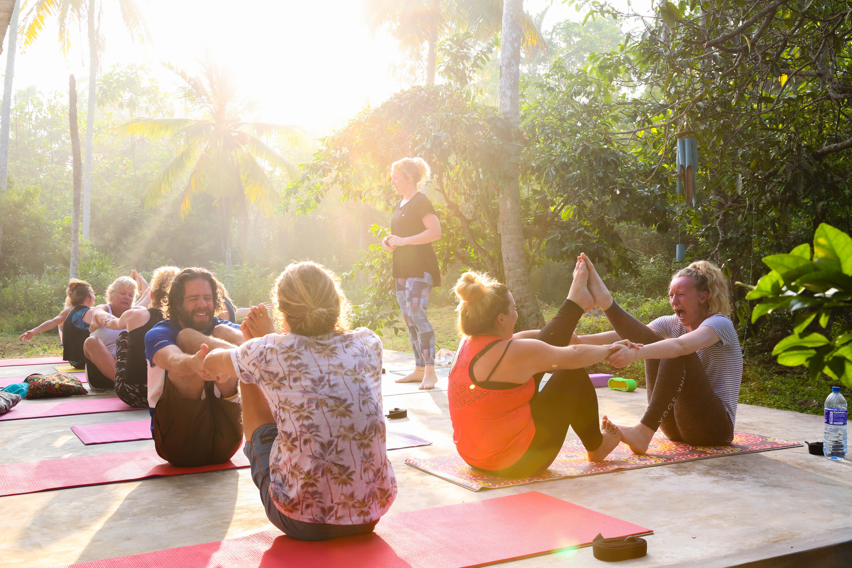 Weligama surf yoga