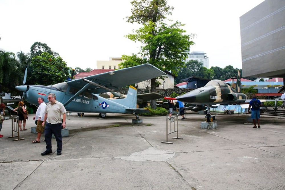 War Remnants Museum, Ho Chi Minh City, Saigon, Vietnam