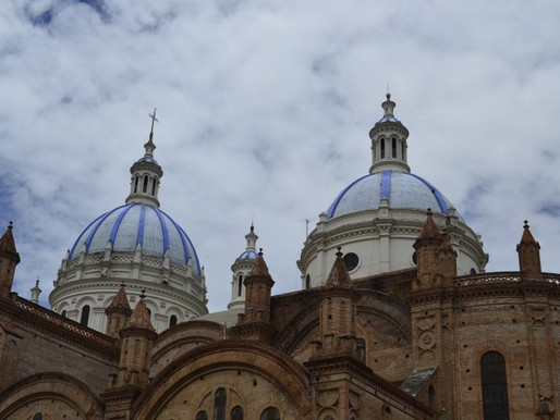 Cuenca: Yeah, we're back in Ecuador!