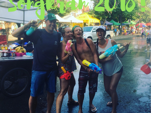 Songkran Thai New Year Water Gun Battle in Chiang Mai, Thailand!