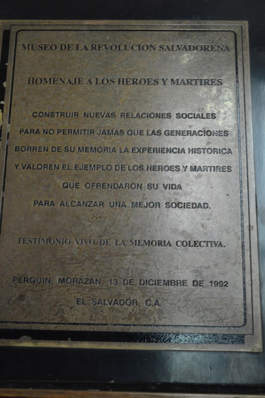 The Perquin War Museum - Backpacking El Savador