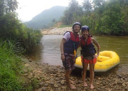 Sri Lanka Whitewater Rafting in Kitulgala!