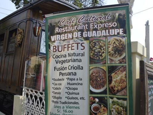 Café Cultural Restaurant Expreso Virgen de Guadalupe in Barranco, Lima, Perú