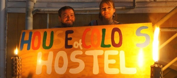 John and Bernny of house of colors hostel
