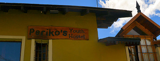 Periko's Youth Hostel in Bariloche, Argentina