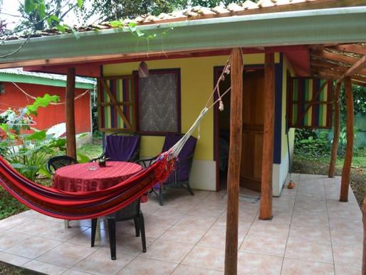 Brigitte Cabinas in Cahuita, Costa Rica