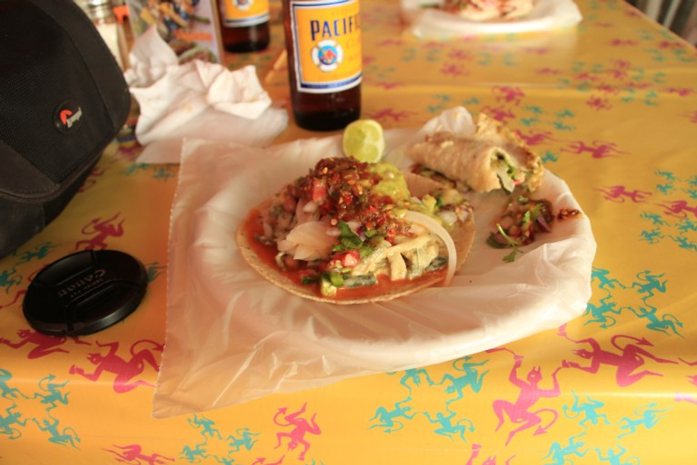 Help! My taco is too stuffed! cabo road trip