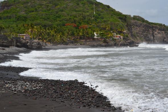 Surfing El Salvador - Waves Too Big For Us!