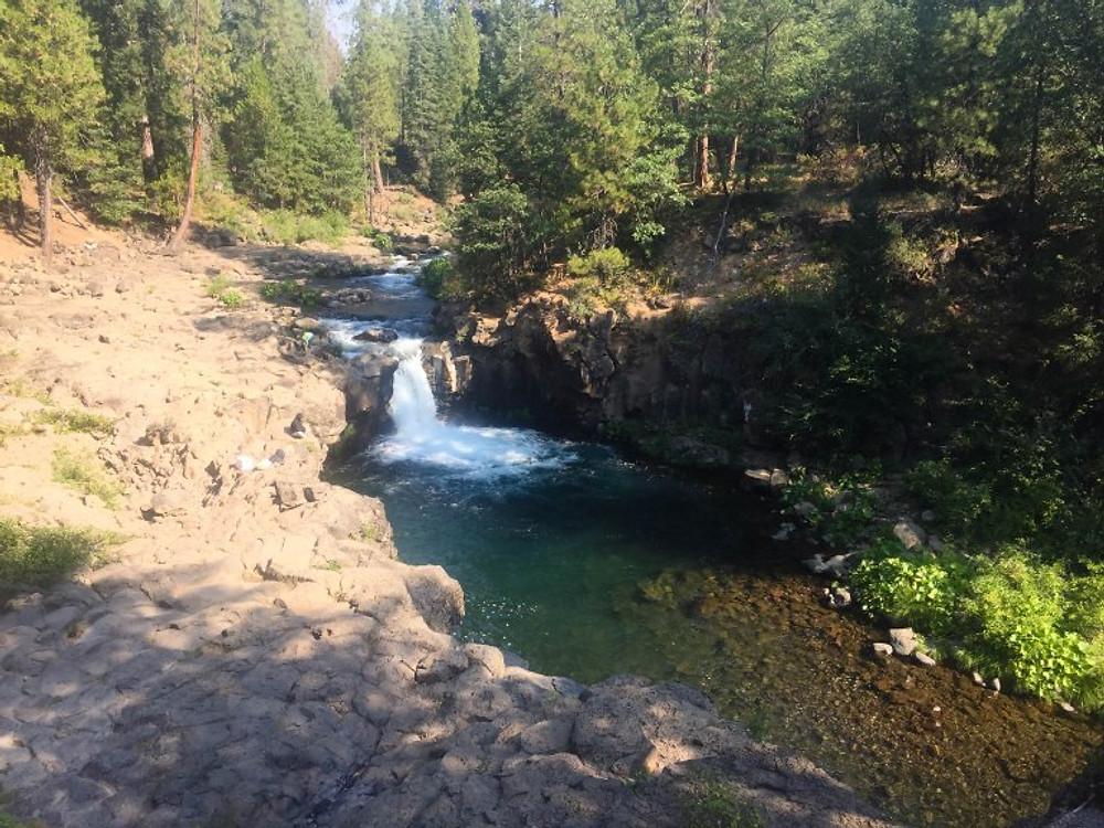 McCloud River Mt Shasta