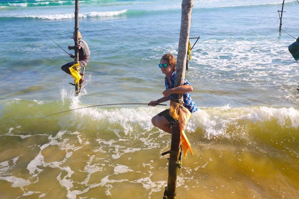 Stilt fishermen Ahangama