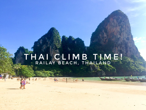 Krabi and Railay Beach – Thai Climb Time