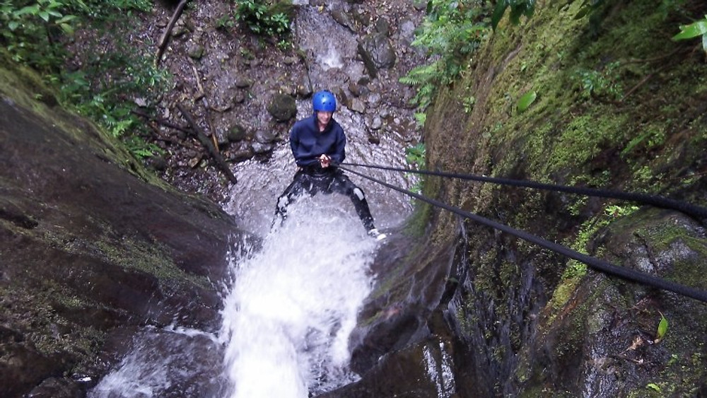 Waterfall Rappelling in Banos - Ecuador Adventures