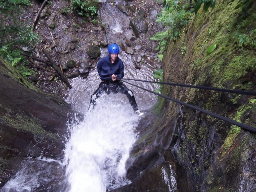 Waterfall Rappelling in Banos – Ecuador Adventures