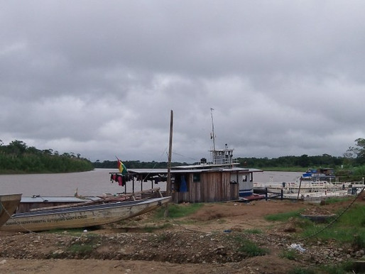 Boat Hitchhiking Into The Bolivian Amazon: Part Two