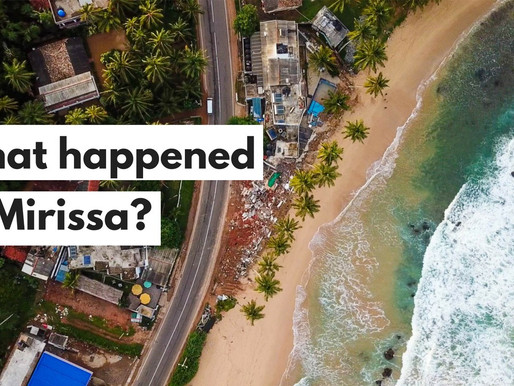 What happened to Mirissa, Sri Lanka? The party is over.