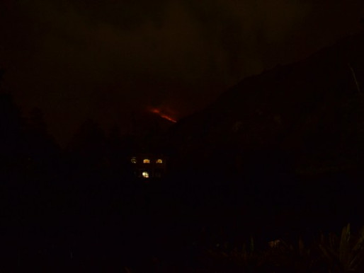Volcán Tungurahua Erupting