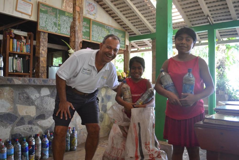 Building Plastic Bottle Schools in Nicaragua