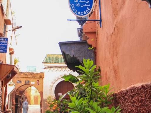 Hotel Sherazade in Marrakech, Morocco