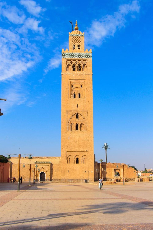 The Koutoubia, Marrakech's central mosque