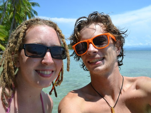 It's a hard life in Bocas del Toro