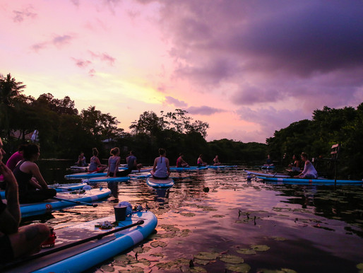 Full Moon SUP Yoga Experience in Sri Lanka!