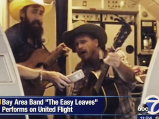 Bay Area Band Performs on United Flight