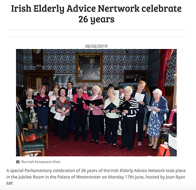 The Irish Pensioners Choir