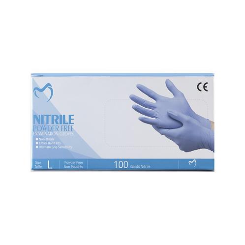 GANTS NITRILE BLEU MEDI TAILLE XS (100 PIÈCES)