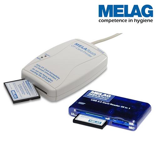 MELAflash | Enreg.données a/carte CF | MELAG