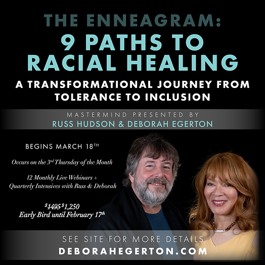 The Enneagram: 9 Paths to Racial Healing - 12 Month Mastermind
