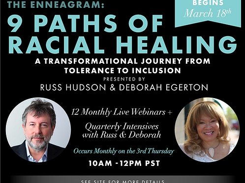 The Enneagram: 9 Paths of Racial Healing - 12 Month Mastermind