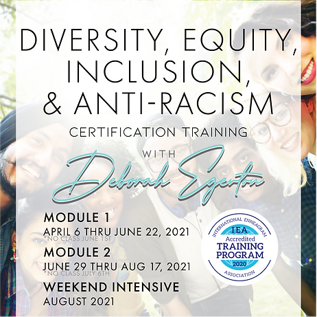 2021 Diversity, Equity, Inclusion, & Anti-Racism Certification Training