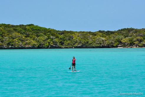 Balade en paddle, Baie de Gadji